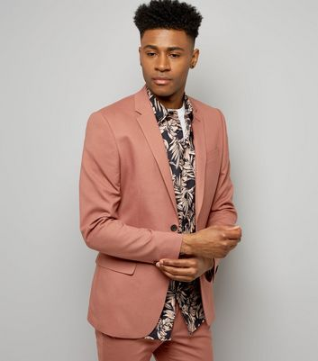 Deep Pink Suit Jacket