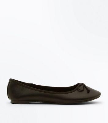 New LookLETHRU - Ballet pumps - black ruMXxCxm7c