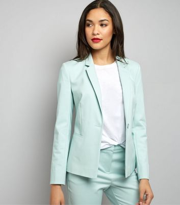 Mint Green Premium Suit Jacket
