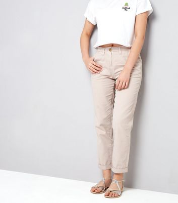 Teenager – Chinos in Muschelrosa