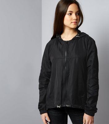 Teens Black Sports Jacket