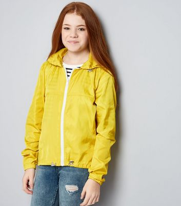 Teens Yellow Sports Jacket