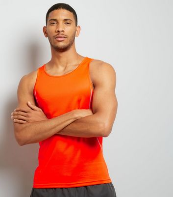 Orange Drop Arm Sports Vest