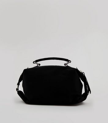 Black Neon Zip Rectangle Bag