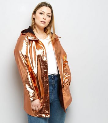 Curves Rose Gold Anorak