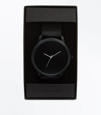 White Contrast Hand Watch
