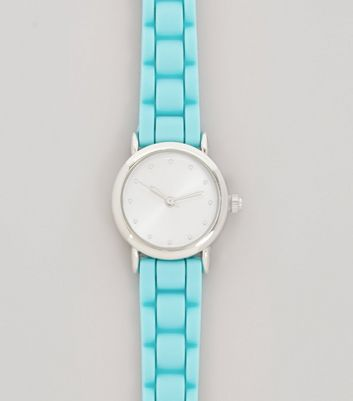 Neon Blue Mini Watch