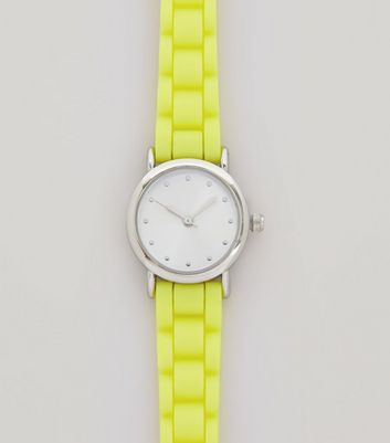 Neon Yellow Mini Watch