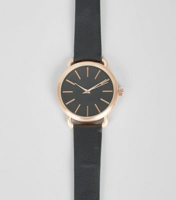 Black Contrast Trim Watch