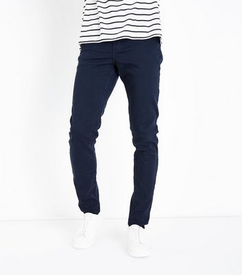 Marineblaue 5-Pocket-Hose