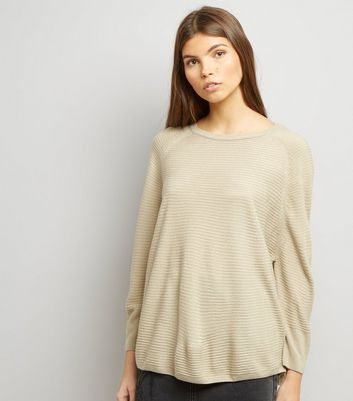JDY Stone Ribbed Fine Knit Jumper