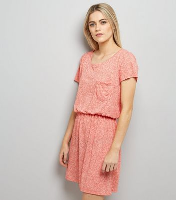JDY Mid Pink Elasticated Waist Dress