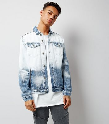 Blue Tie Dye Denim Jacket