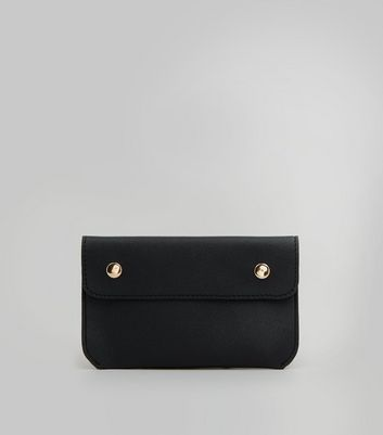 Black Pouch Purse Belt