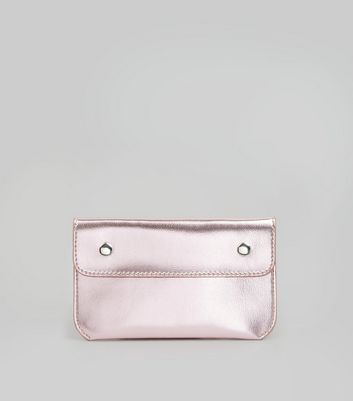Pink Double Pouch Purse Belt