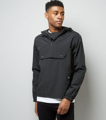 Black Overhead Jacket