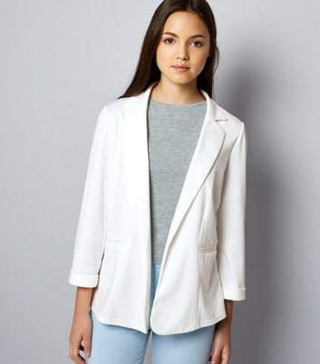 Teens White Blazer