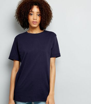 Tall Navy Oversized T-Shirt