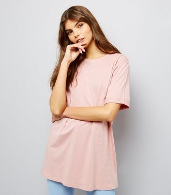 Tall Pink Oversized T-Shirt