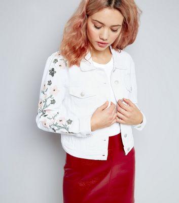 VARBOO_ELSA woman jean jacket Casacos Feminino Slim fashion Floral Embroidery  Denim Jacket Lady Vintage Jackets 2017