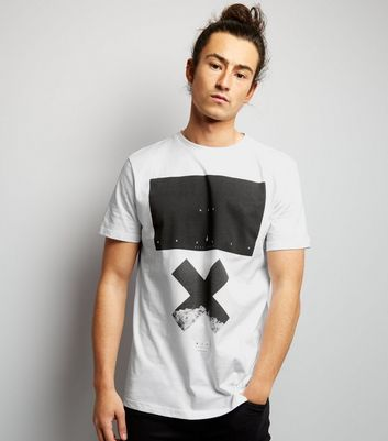 White NYC X Printed T-Shirt