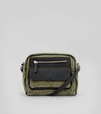 Khaki Cross Body Bag
