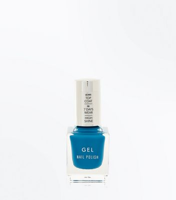Bright Blue Gel Nail Polish