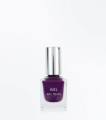 Dark Purple Gel Nail Polish
