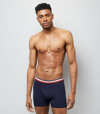3 Pack Stripe Print Trunks