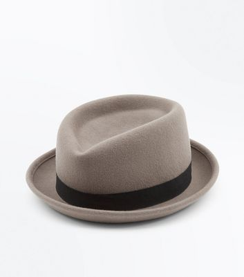 Tan Contrast Band Snap Brim Hat