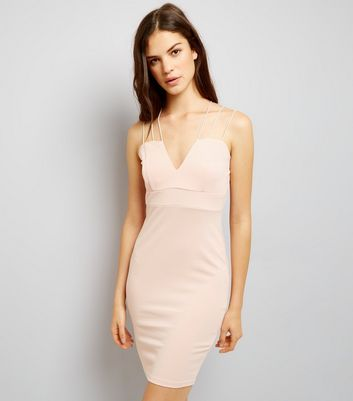 AX Paris Pink Strappy Dress