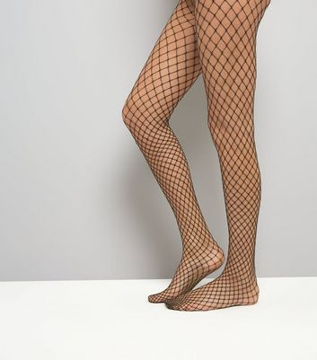 Gold Fishnet Tights