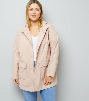 Curves Shell Pink Matte Anorak