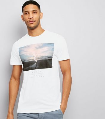 White California 92 Print Short Sleeve T-Shirt
