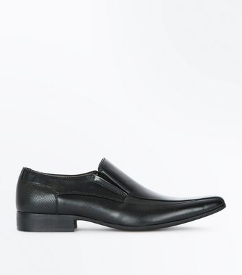 Black Chisel Toe Formal Shoes