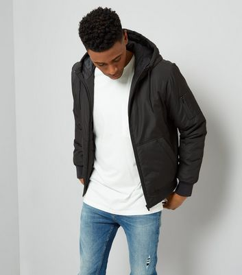 Black Hooded Jacket
