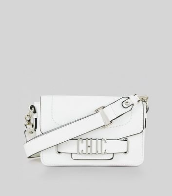 White Chic Cross Body Bag