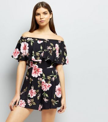 New Look New Look plus floral jumpsuit Clearance Get Authentic Outlet Where Can You Find Cheap Sale Discounts gChMykkYZm