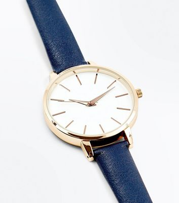 Navy Strap Watch
