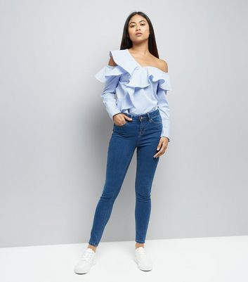 Blue Super Soft Skinny India Jeans
