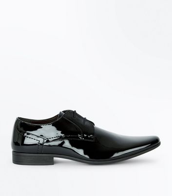 Black Patent Gibson Shoes