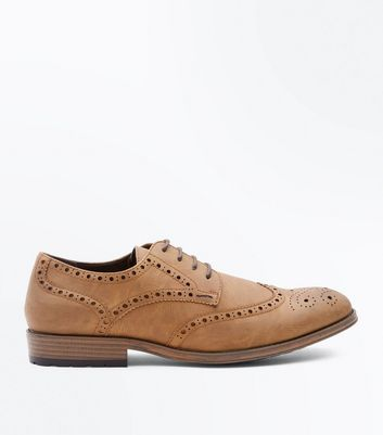 Tan Cleated Sole Brogues