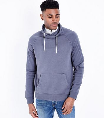 Dark Grey Funnel Neck Sweater
