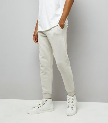 Pale Grey Joggers
