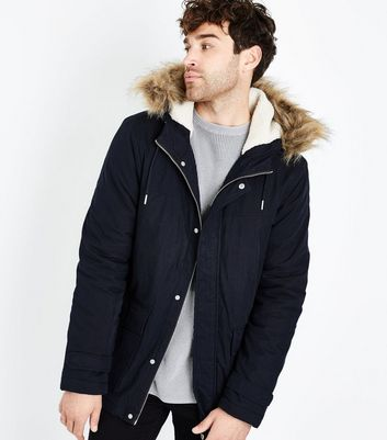 Mens Coats | Military, Rain & Parka Coats | New Look