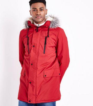 Men's Parka Coats | Parka & Puffer Jackets | New Look