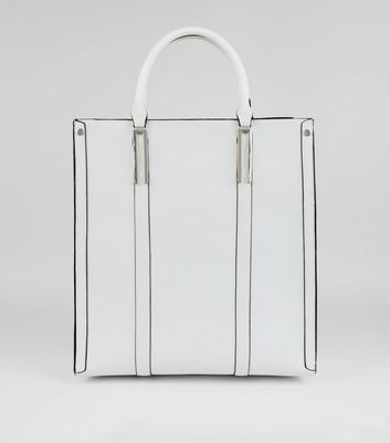 White Oversized Tote Bag