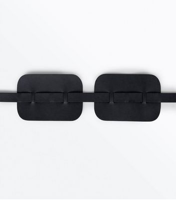 Black Side Panel Waist Belt