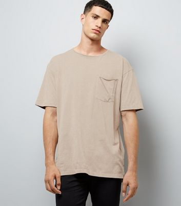 Nude Pocket Front T-Shirt