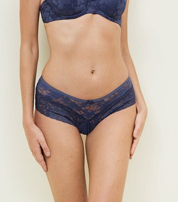Blue Lace Brazilian Briefs